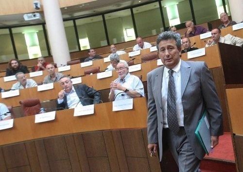Henri Franceschi, Président du CESC (Photo Corse Matin)