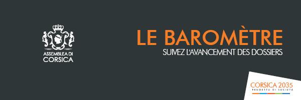 Corsica 2035 : le baromètre des actions