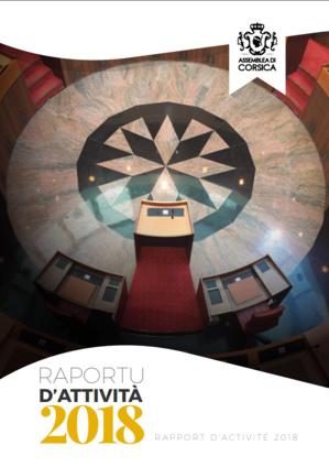 Téléchargez le rapport d'activité 2018 de l'Assemblée de Corse