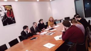 Conférence de presse de présentation de la motion le 11 février 2020