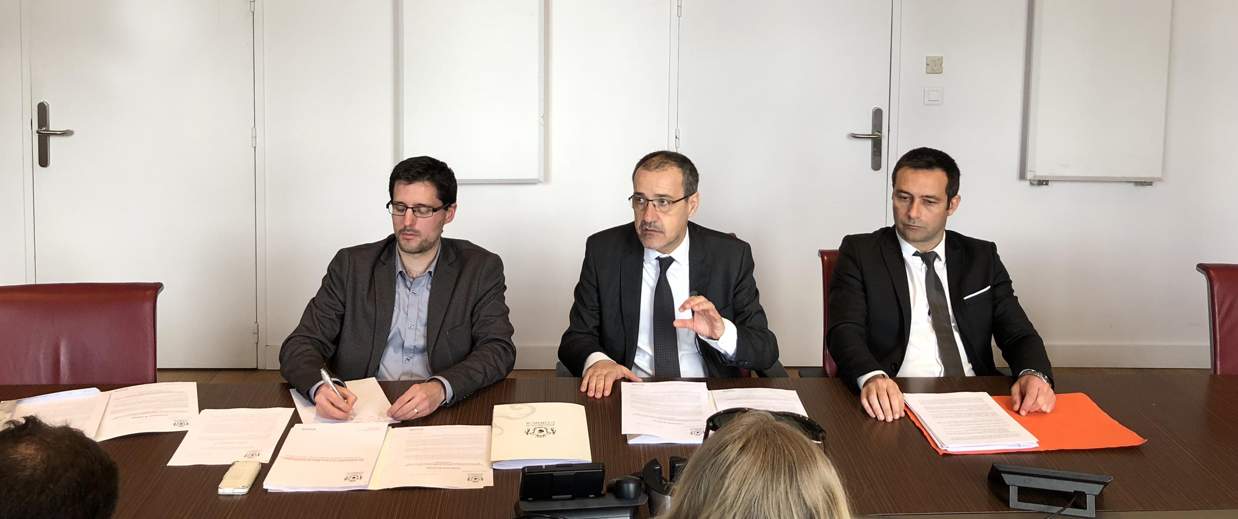 Un article pour la Corse dans la Constitution : contribution du Président de l'Assemblée de Corse