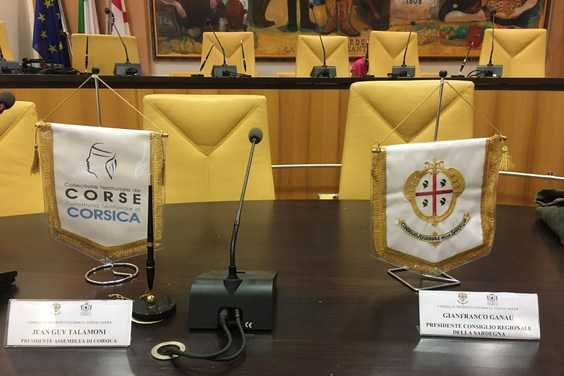 Le Conseil permanent corso-sarde se réunit aujourd'hui