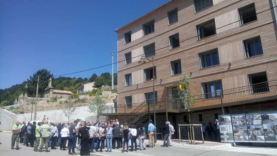 Serra di Scopamene : Inauguration des travaux de rénovation énergétique du bâtiment communal et d'installation d'une chaufferie bois