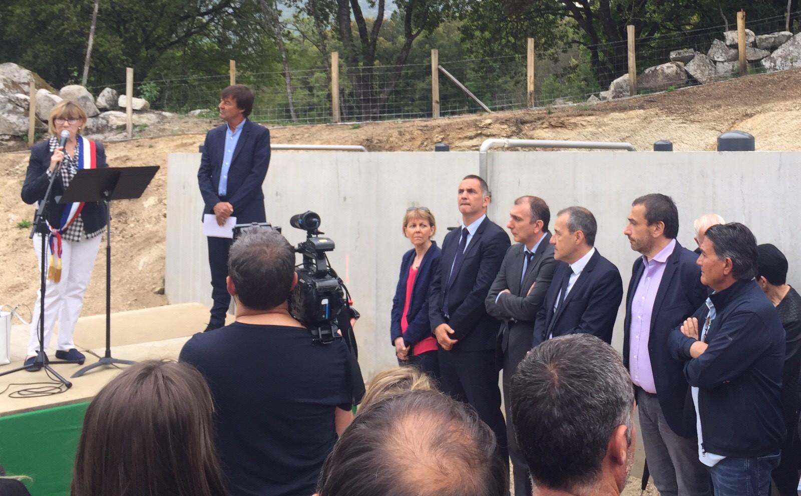 Quenza : inauguration de la station d'épuration
