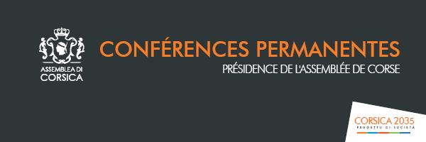 Les conférences permanentes de la Présidence de l'Assemblée de Corse