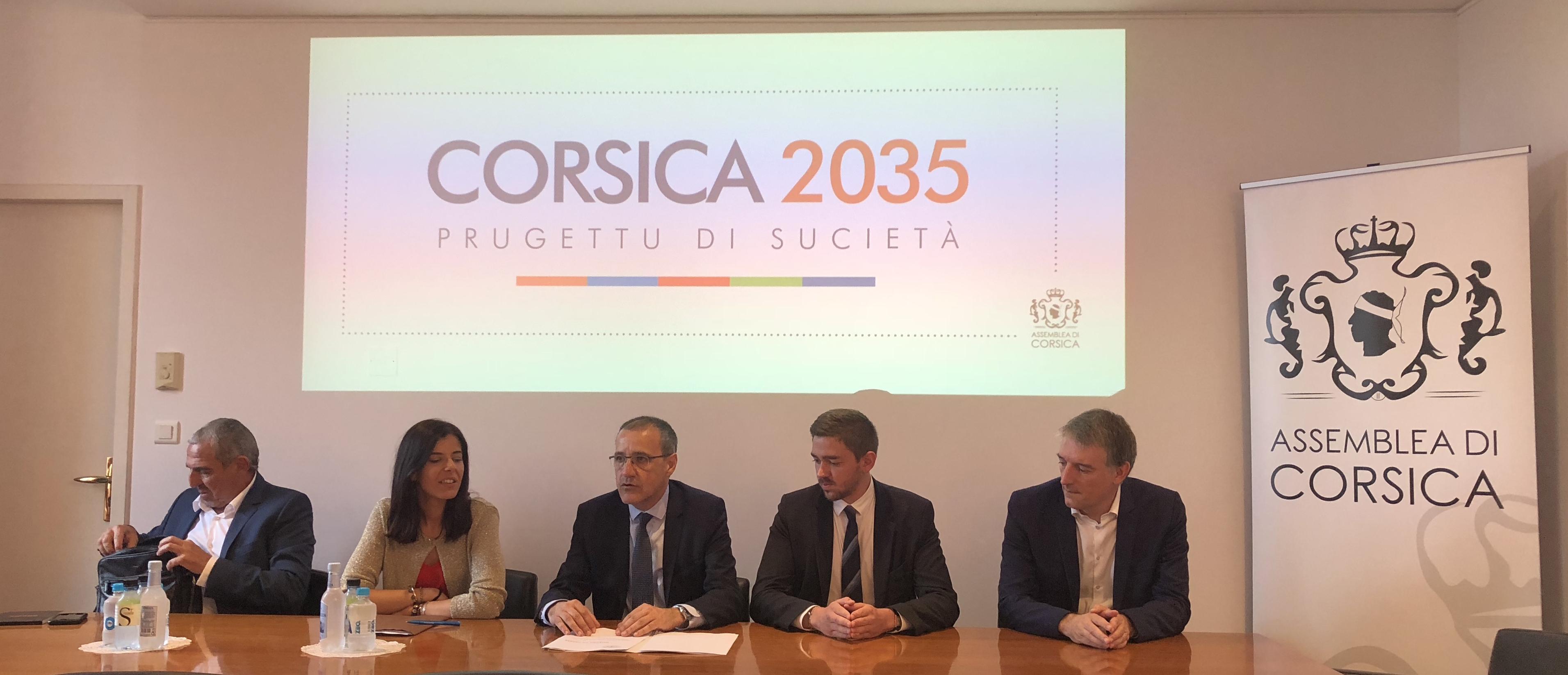 Point d'étape à mi-mandat de la Présidence de l'Assemblée de Corse