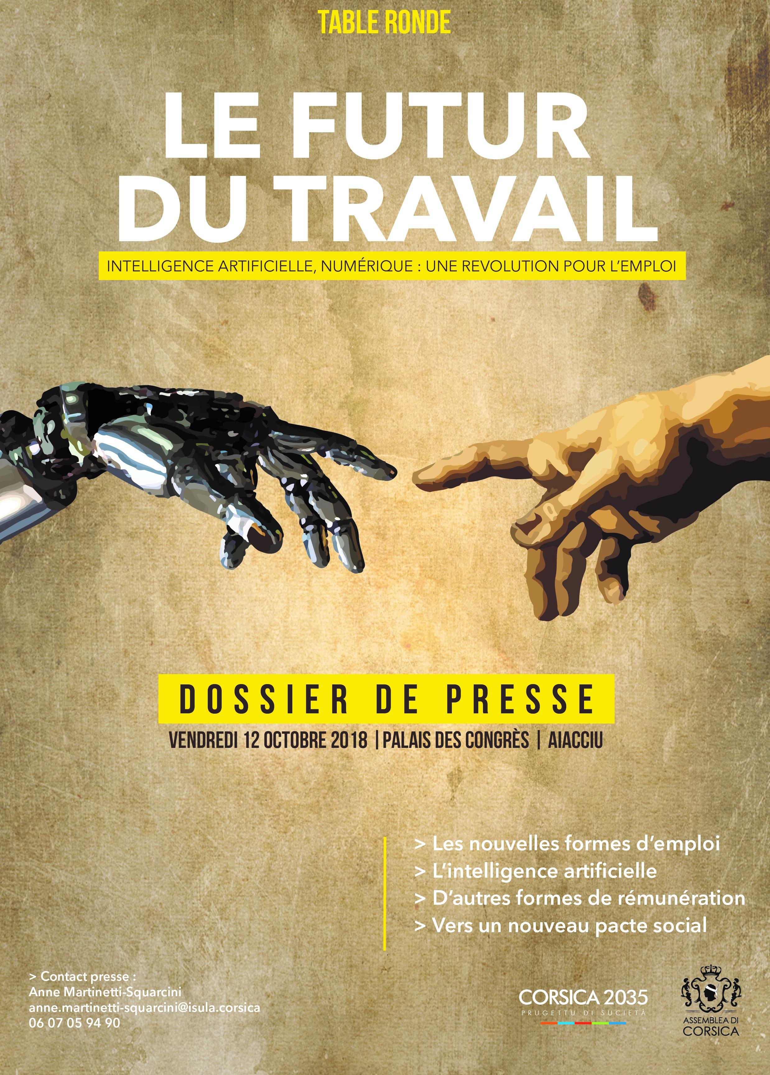 Dossier de presse - Le futur du travail