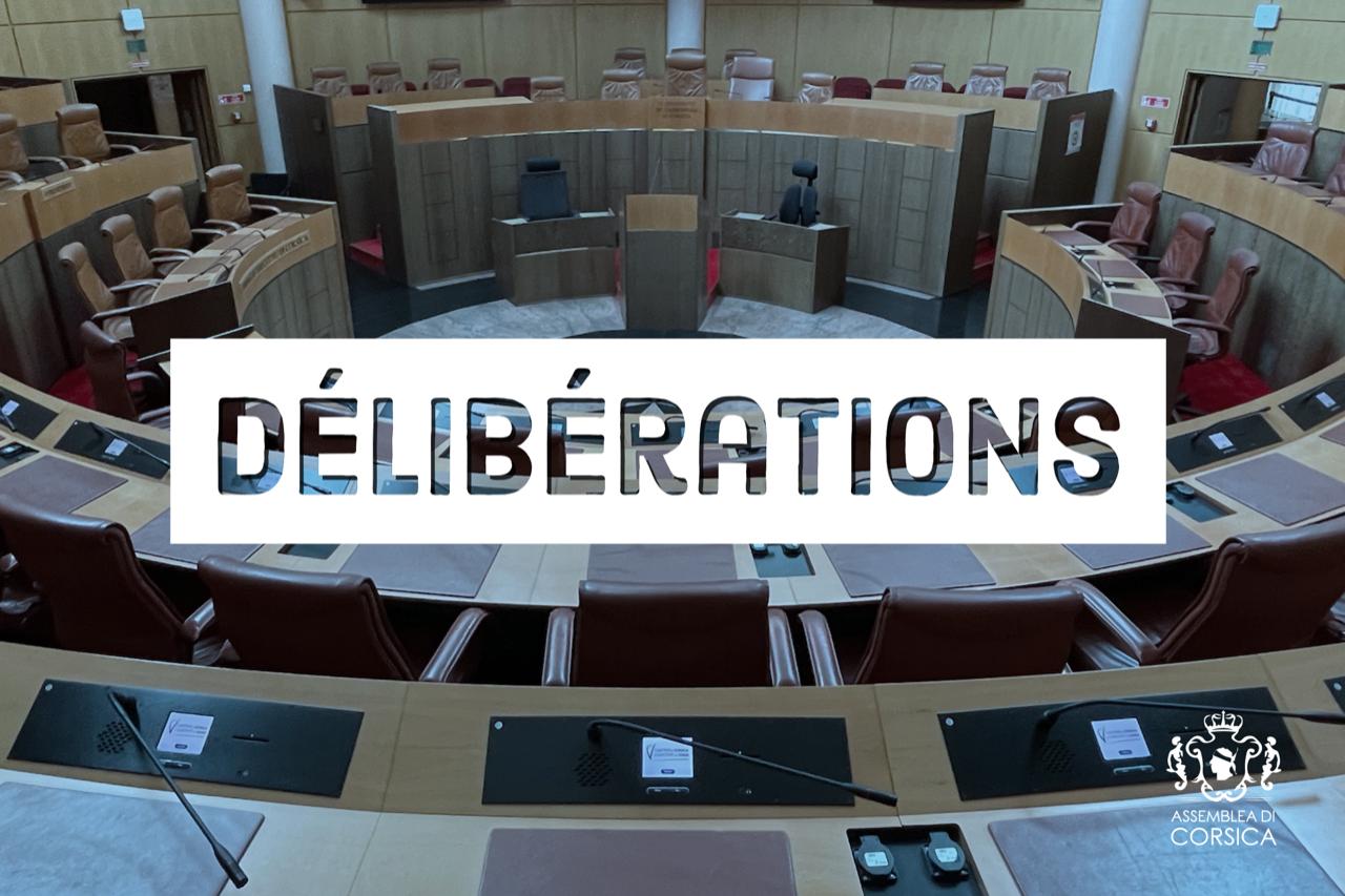 Les délibérations de la séance publique de l'Assemblée de Corse des 25 et 26 mars sont en ligne