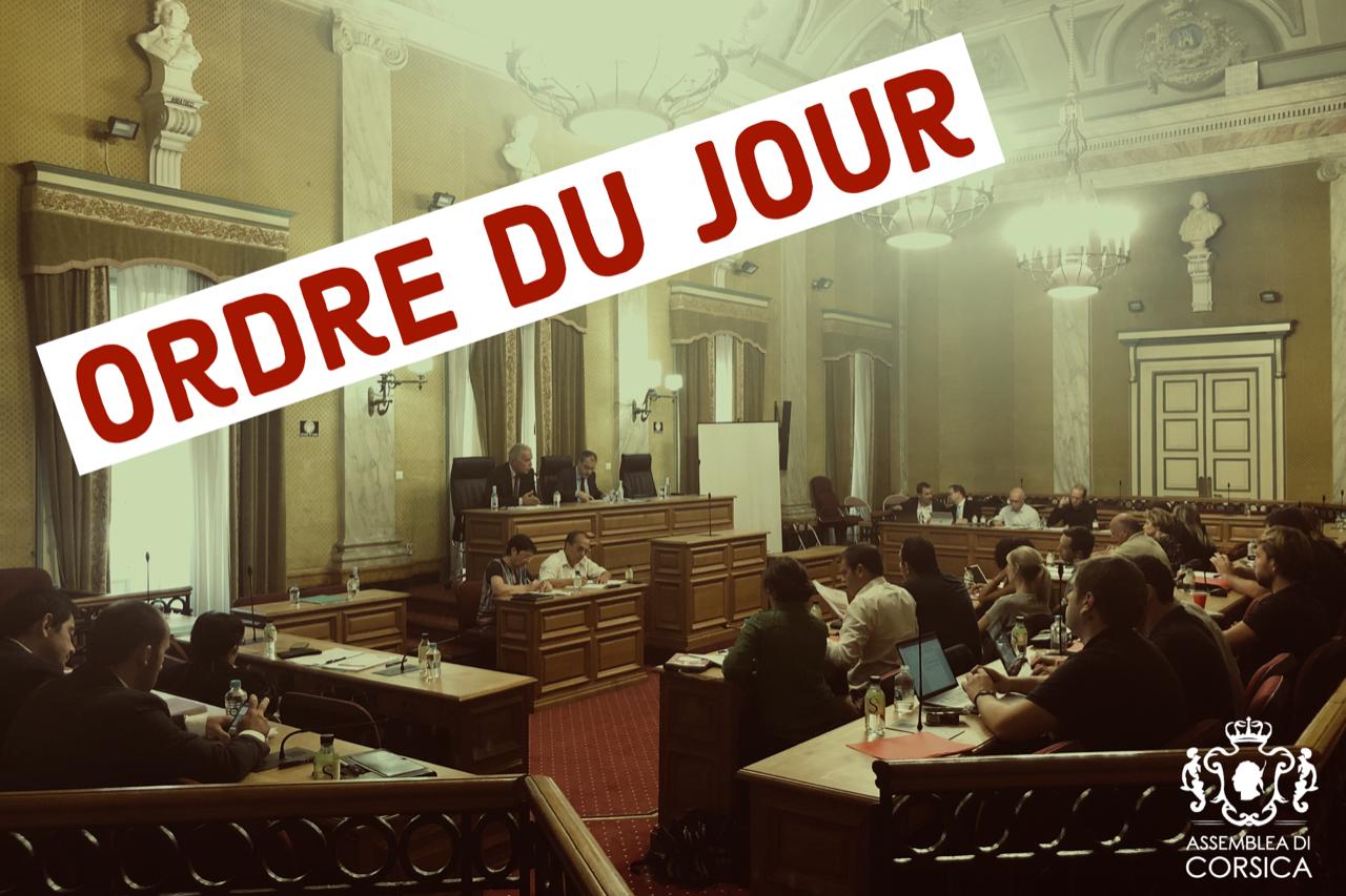 Consultez l'ordre du jour de la Commission Permanente du 17 décembre