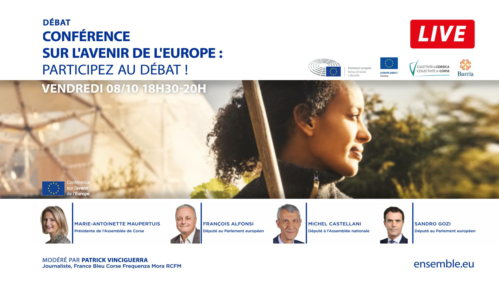 Participez au débat sur l'avenir de l'Europe !