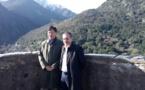 Le Président de l'Assemblée de Corse a reçu l'Ambassadeur de Chine
