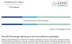 CP - PAR-DELÀ L'HOMMAGE OFFICIEL, POUR UNE RÉCONCILIATION SYMBOLIQUE