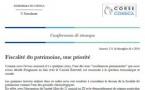 CP - FISCALITÉ DU PATRIMOINE, UNE PRIORITÉ