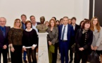 Inauguration du buste de Maria Gentile à la Collectivité Territoriale de Corse