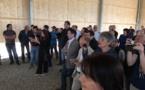 Discours : Inauguration d'un hangar photovoltaïque à Albertacce