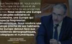 """Un altra Auropa, più demucratica è sulidaria"" - Discours du Président de l'Assemblée de Corse"