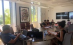 réunion conjointe des Commissions, pour l'évolution statutaire de la Corse et des compétences législatives et réglementaires de l'Assemblée de Corse