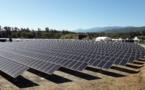 Centrale photovoltaïque de Giuncaghju : une réalisation qui contribuera à l'indépendance énergétique de la Corse