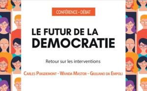 """Retour sur la conférence-débat """"Le futur de la démocratie"""""""