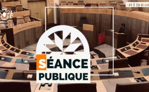 Consultez l'ordre du jour de la séance publique des 22 et 23 juillet 2021