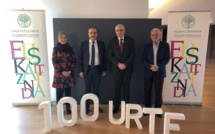 Jean-Guy Talamoni invité au centenaire de l'Académie de la langue basque