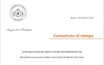 """Mon point de vue au sujet du débat sur les """"racines chrétiennes"""" de la Corse"""