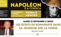 """"""" Les écrits de Bonaparte dans sa jeunesse sur la Corse """" : conférence de Jean TULARD"""