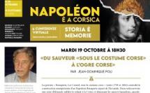 """""""Du Sauveur """"sous le costume corse"""" à l'Ogre corse"""" : conférence de Jean-Dominique Poli"""