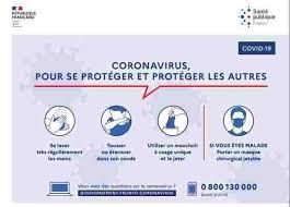 """Les gestes """"barrières"""" à adopter par tous- Coronavirus Covid-19"""