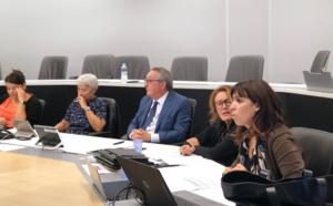 """Présentation du rapport du CESEC sur """"Déplacements médicaux vers le continent """", devant la commission des politiques de santé de l'Assemblea di Corsica"""