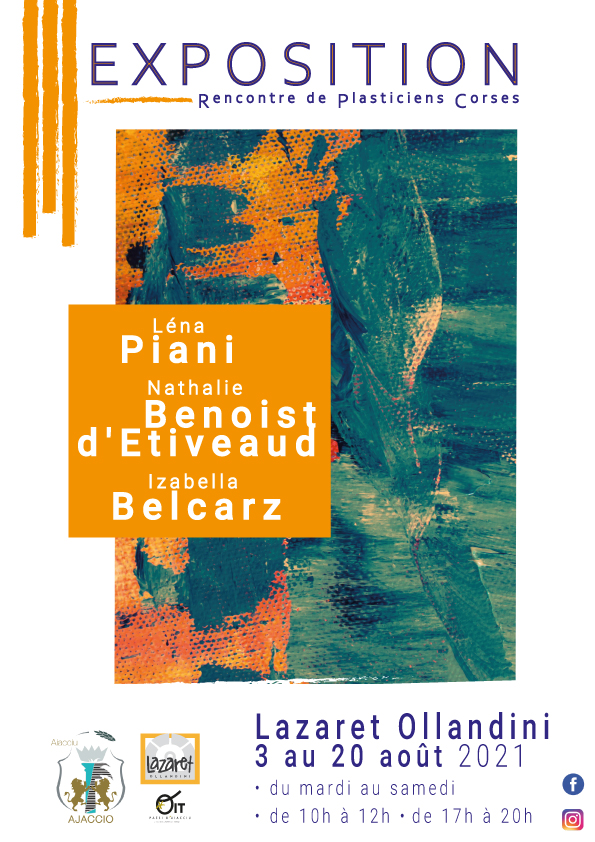 Les artistes plasticiens à la rencontre du public à Ajaccio