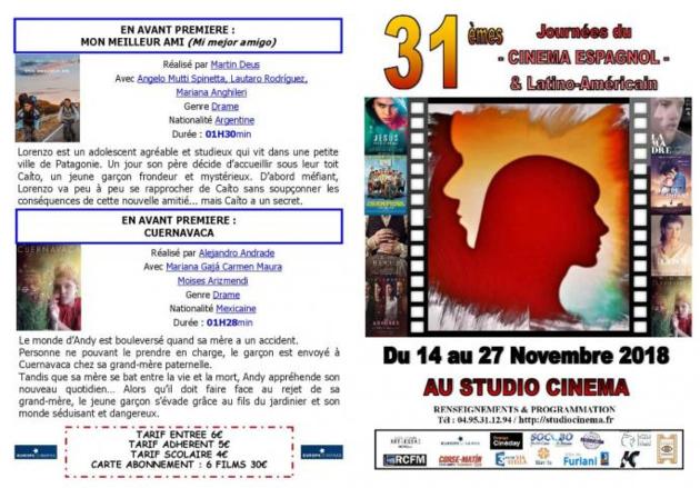 31èmes journées du cinéma espagnol et latino-américain