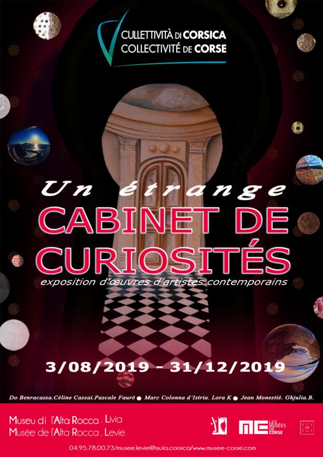 """Exposition collective : """"Un étrange cabinet de curiosités"""""""