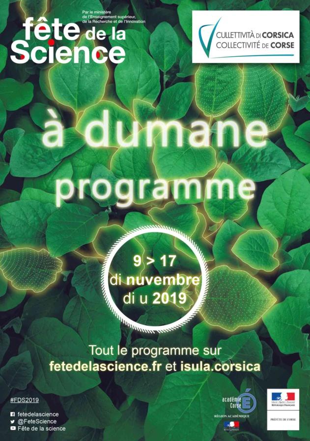 Fête de la Science en Corse