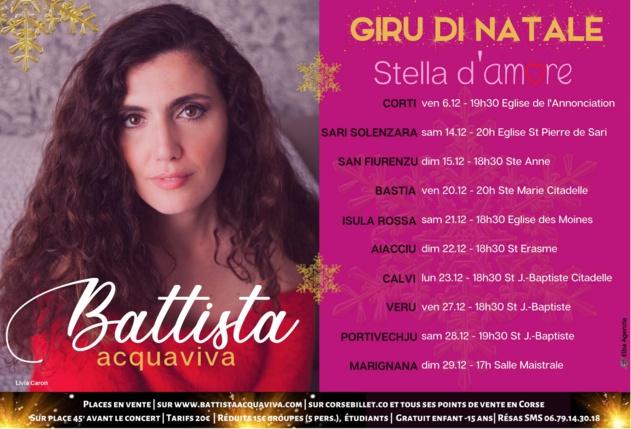 Battista Acquaviva - Giru di Natale - Stella d'Amore