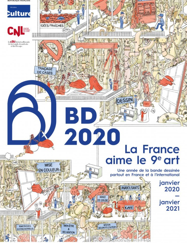 BD 2020 : Toute la France dessine ! En partenariat avec le Centre National du Livre