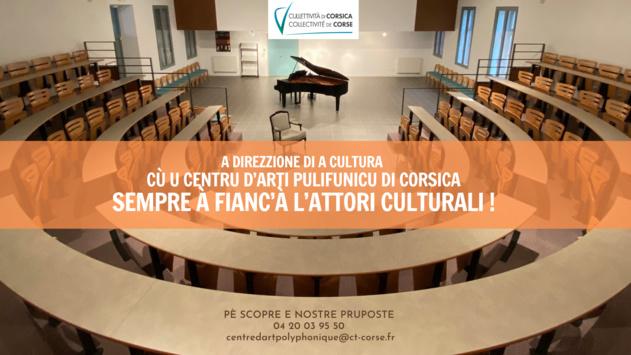 SOUTIEN DU CENTRE D'ART POLYPHONIQUE AUX ACTEURS CULTURELS