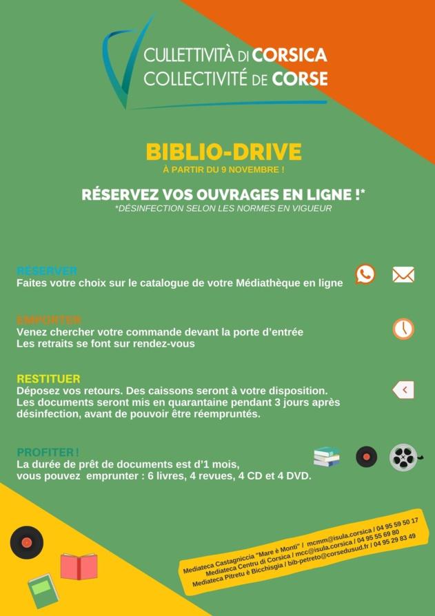 Les Médiathèques Territoriales en Biblio-Drive !