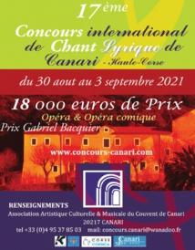 17ème édition du Festival International de Chant Lyrique de Canari