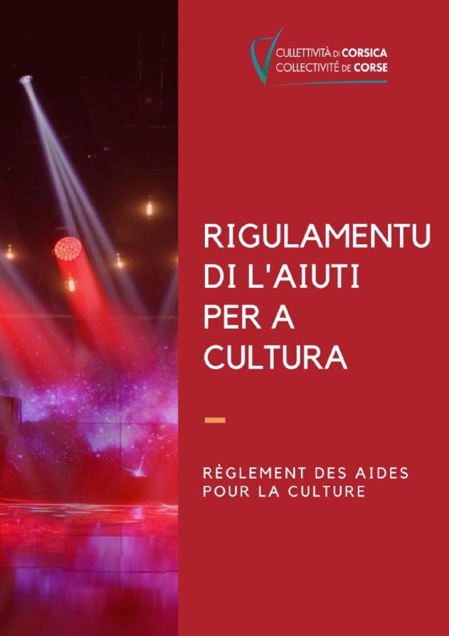 RÈGLEMENT DES AIDES POUR LA CULTURE SECTEUR LIVRE ET LECTURE PUBLIQUE