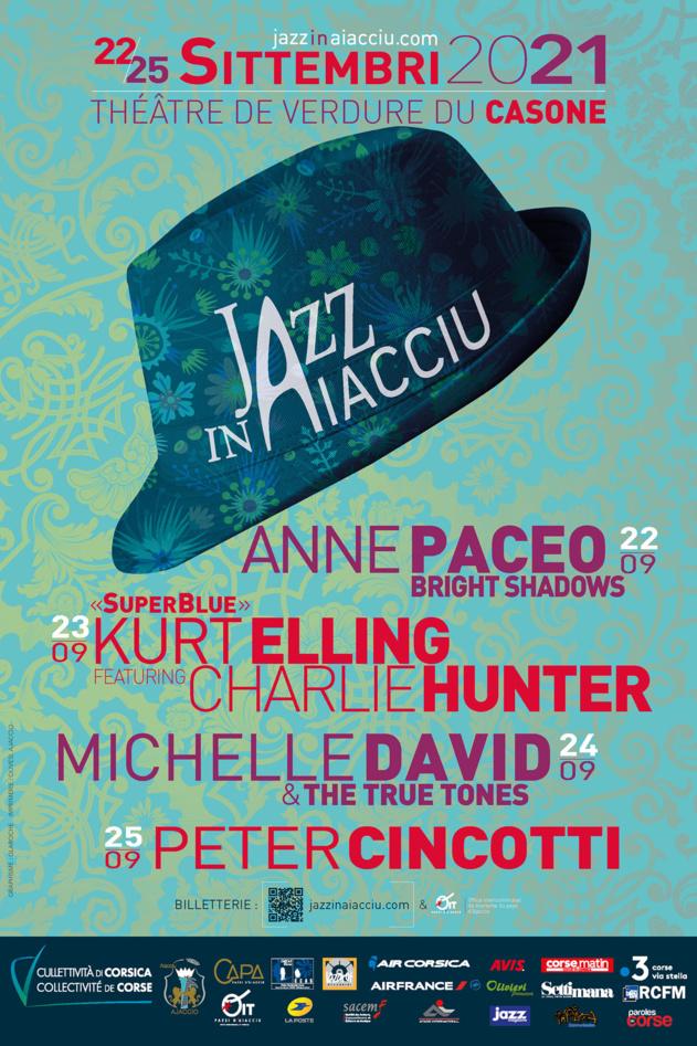 Jazz in Aiacciu 2021 du 22 au 25 Septembre !