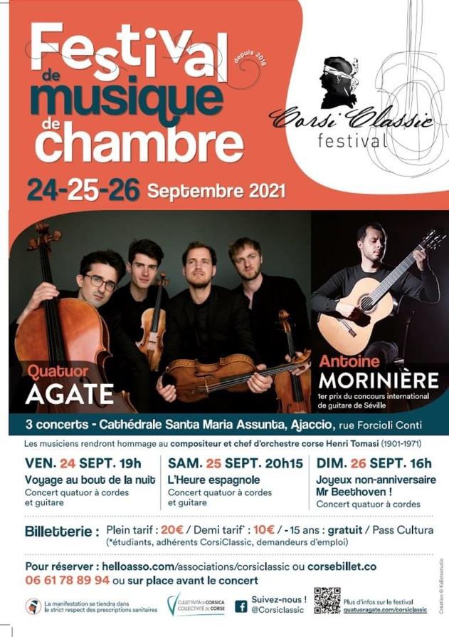 Festival CorsiClassic 6ème édition - Cathédrale Santa Maria Assunta - Ajaccio