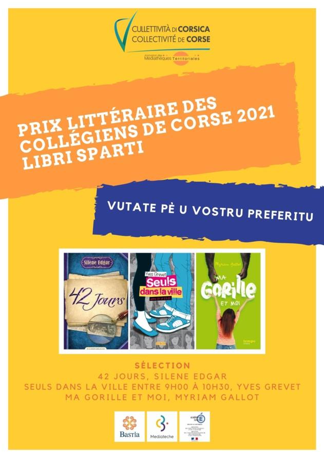"""BookTube : Prix littéraire des collégiens """"Libri Sparti"""""""