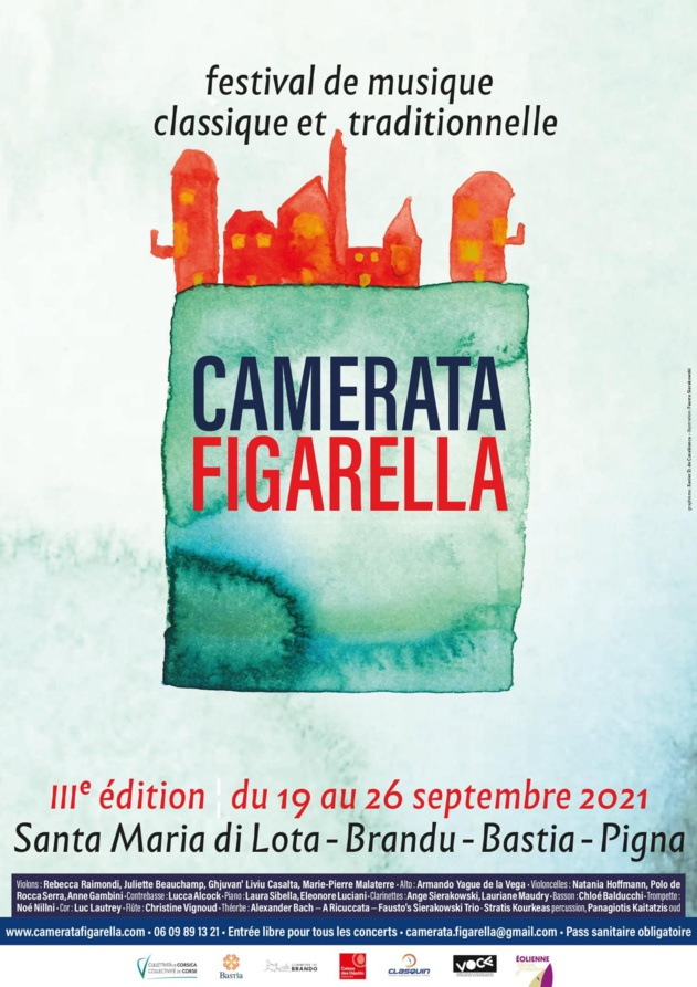 3ème édition du Festival Camerata Figarella