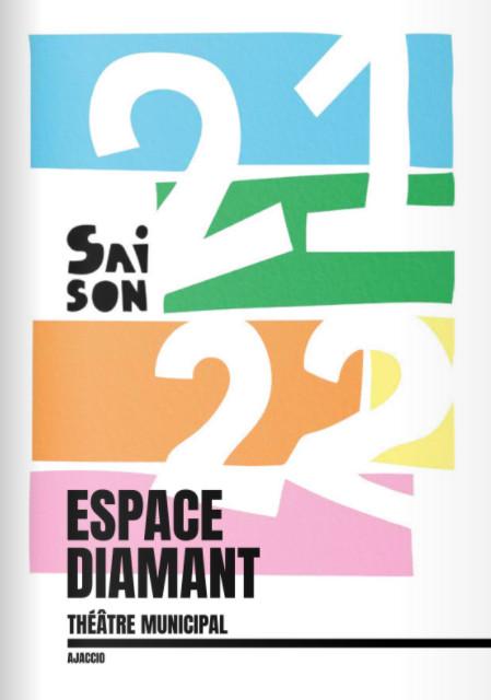 Programmation culturelle 2021/2022 de l'Espace Diamant - Ajaccio