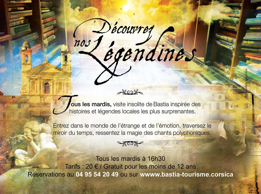 Les Légendines ... Visites insolites de Bastia