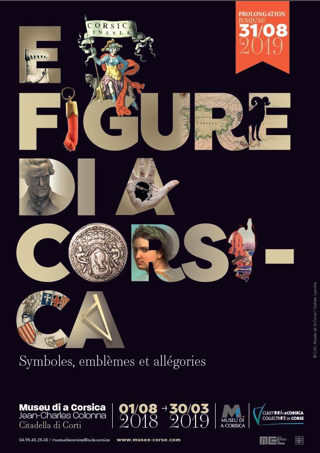 Prolongation de l'exposition « E Figure di a Corsica. Symboles, emblèmes et allégories »