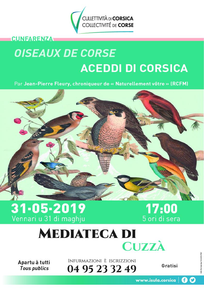Conférence sur les oiseaux de Corse