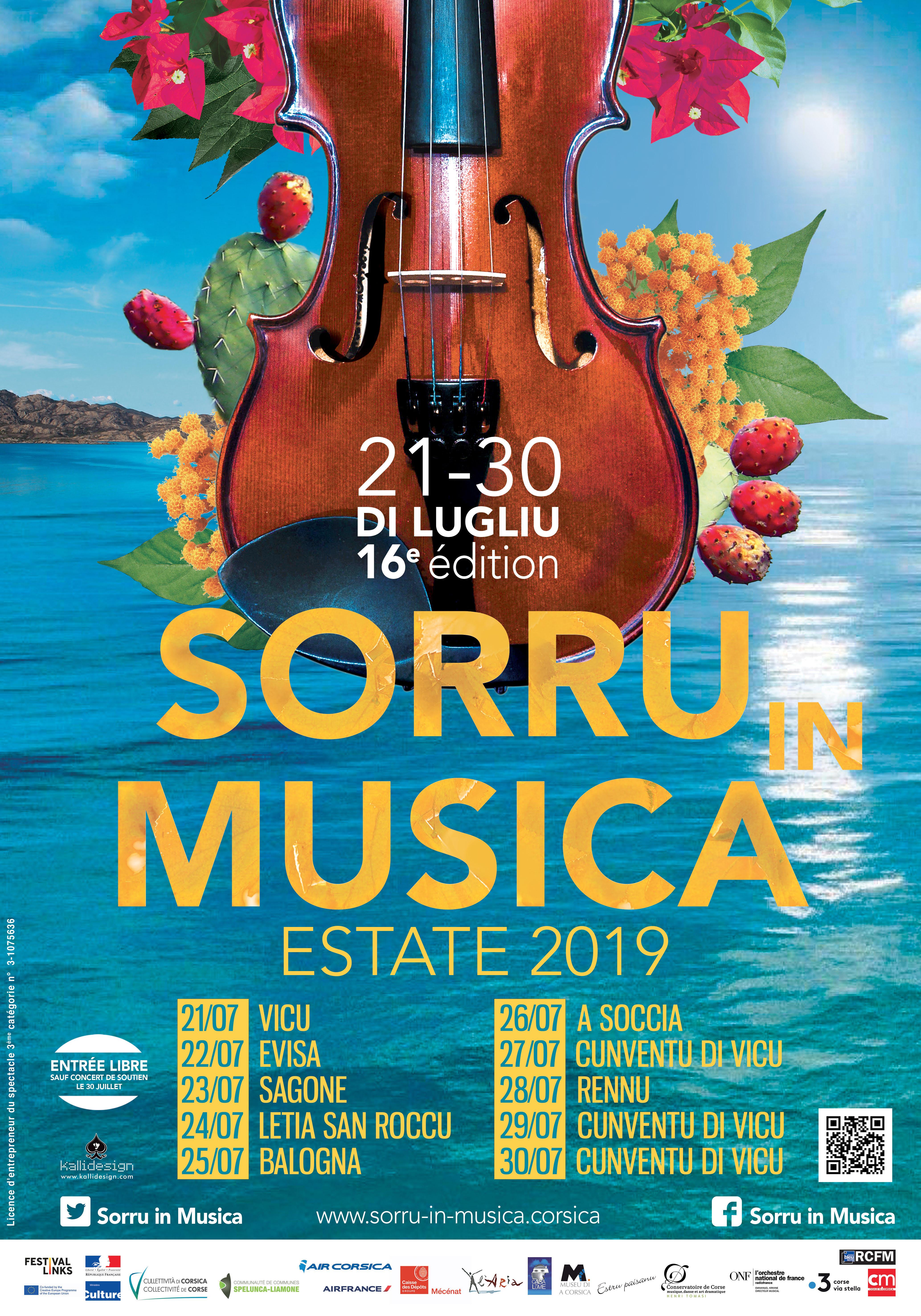 Sorru in Musica Estate 16è édition