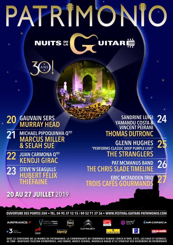 Les nuits de la guitare, 30ème édition